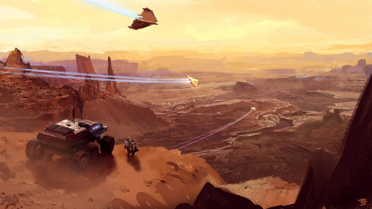 Homeworld: Deserts of Kharak HD Wallpapers