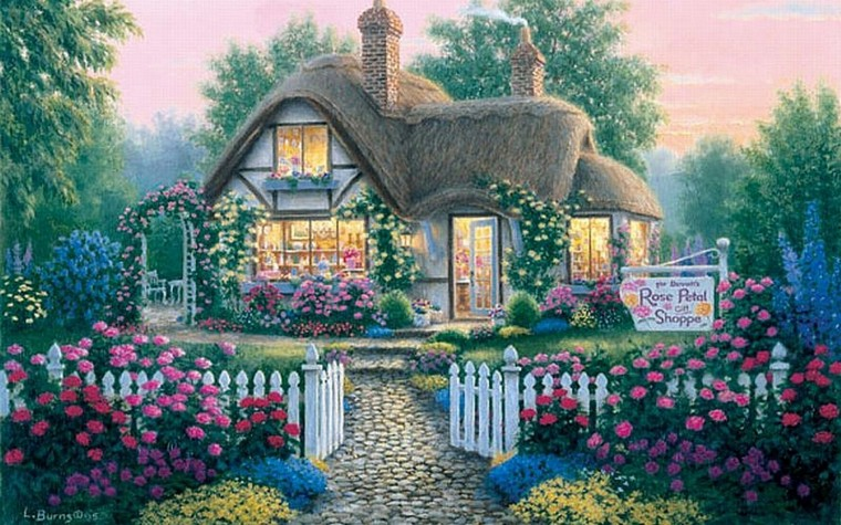 Cottage Wallpapers