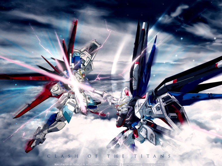 Mobile Suit Gundam Seed Destiny Wallpapers