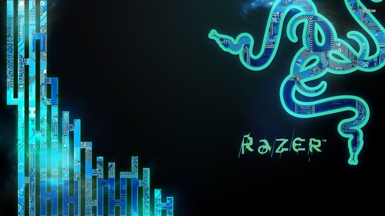 Razer Neon Blue Wallpapers