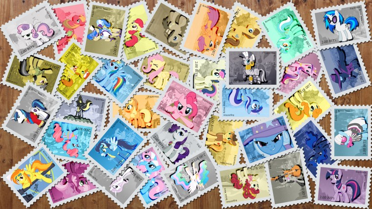 Stamp Wallpapers