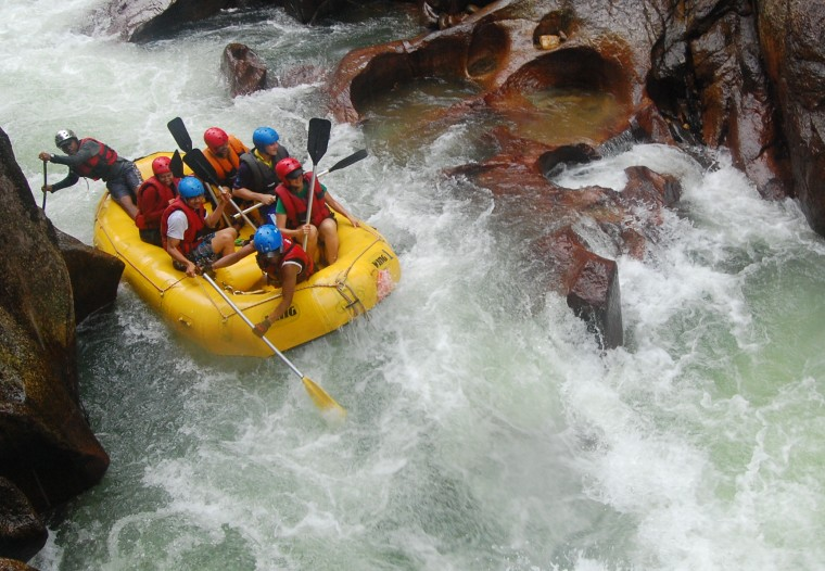 White Water Rafting Wallpapers