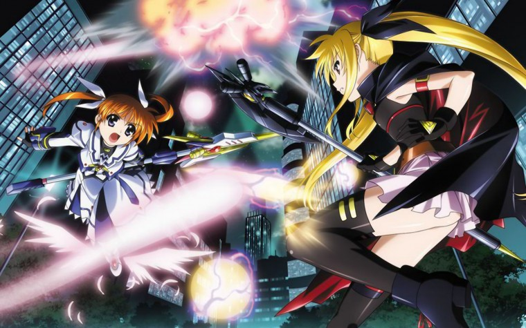 Magical Girl Lyrical Nanoha Wallpapers