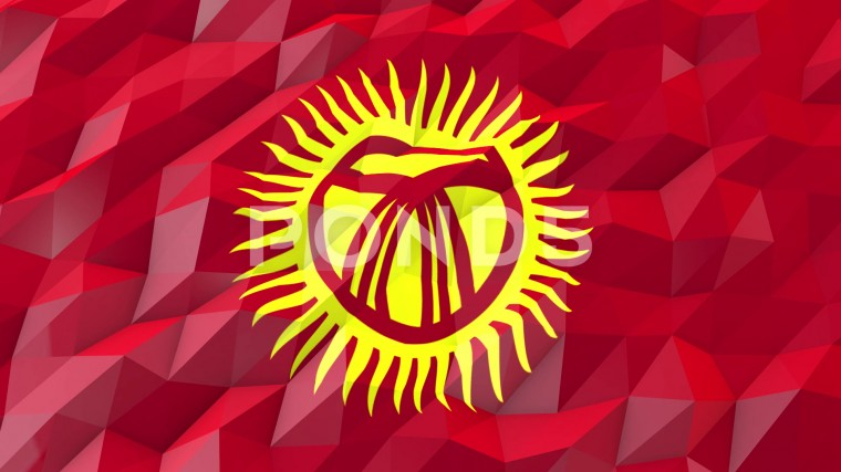 Flag of Kyrgyzstan Wallpapers