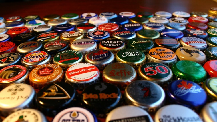 Beer Bottle Caps Wallpapers