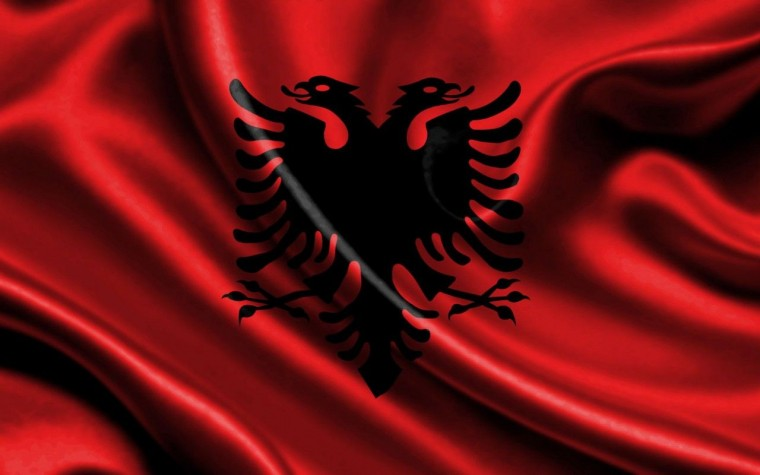 Flag Of Albania Wallpapers