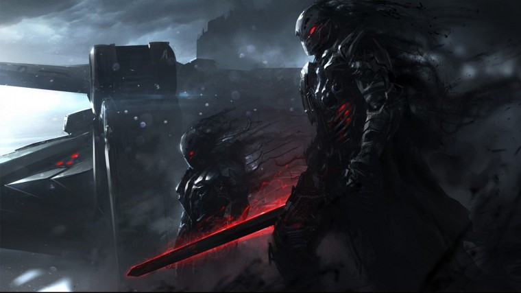 Sci Fi Warrior Wallpapers