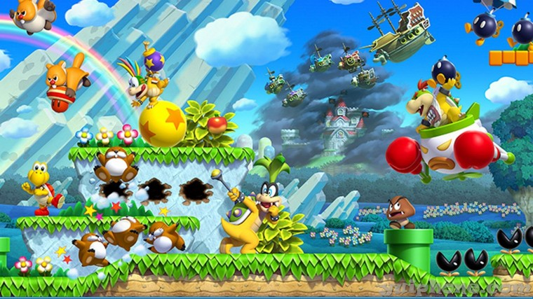 New Super Luigi U HD Wallpapers