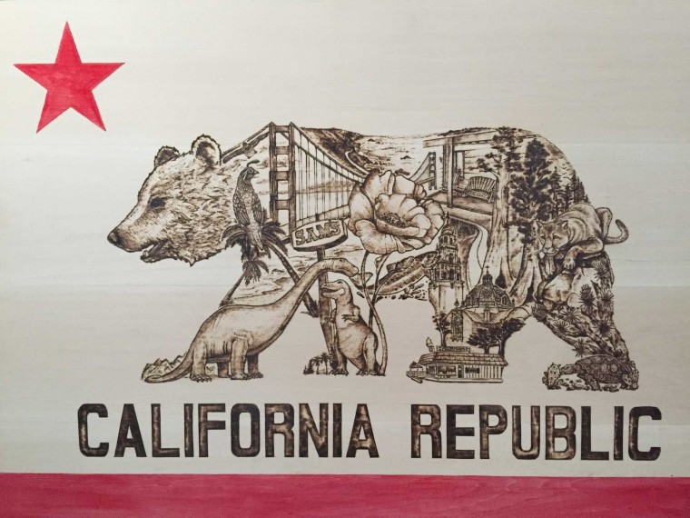 Flag Of California Wallpapers