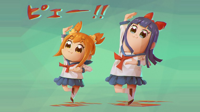 Pop Team Epic Wallpapers