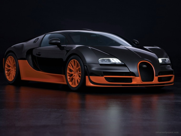 Bugatti Veyron 16.4 Grand Sport Wallpapers