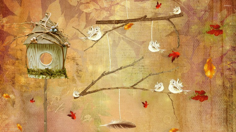 Bird House Wallpapers