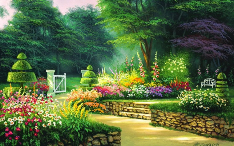 Garden Wallpapers