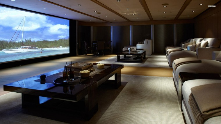 Home theater Wallpaper for Desktop
