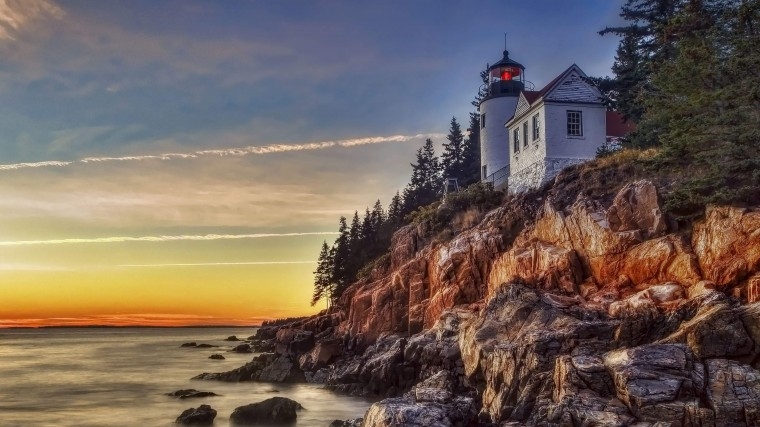 Bass Harbor Lighthouse Wallpapers