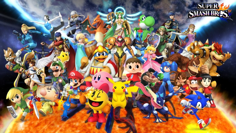 Super Smash Bros. for Nintendo 3DS and Wii U HD Wallpapers