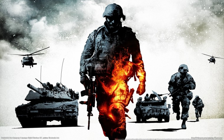 Battlefield: Bad Company 2 HD Wallpapers