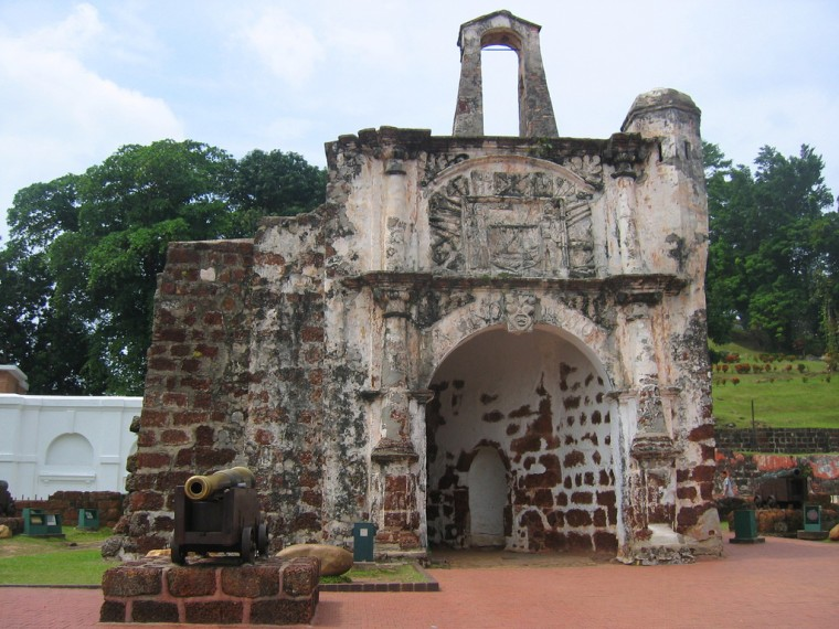 Famosa Fortress In Malacca Wallpapers