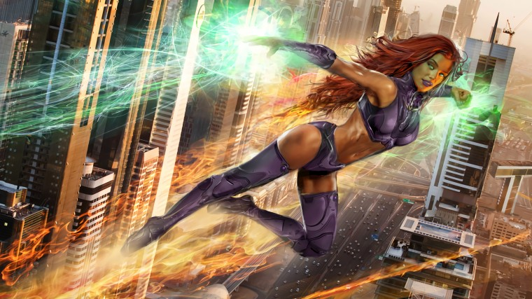 Starfire Wallpapers