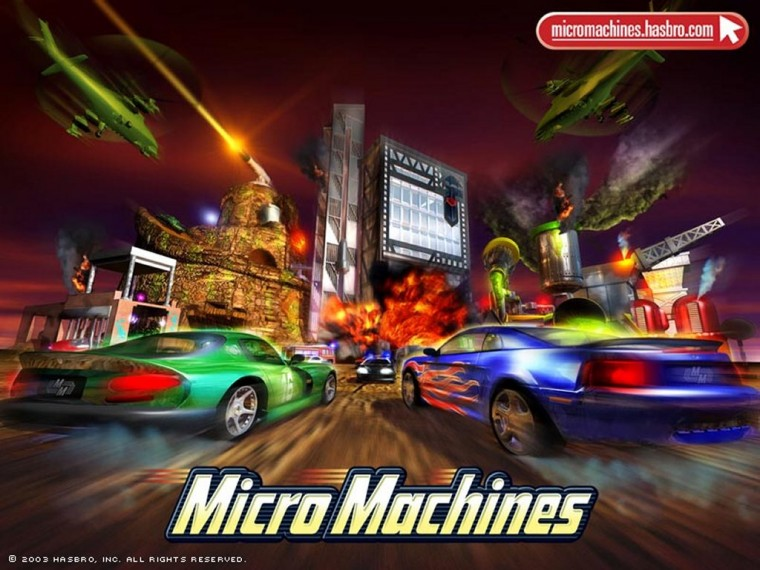 Micro Machines Wallpapers