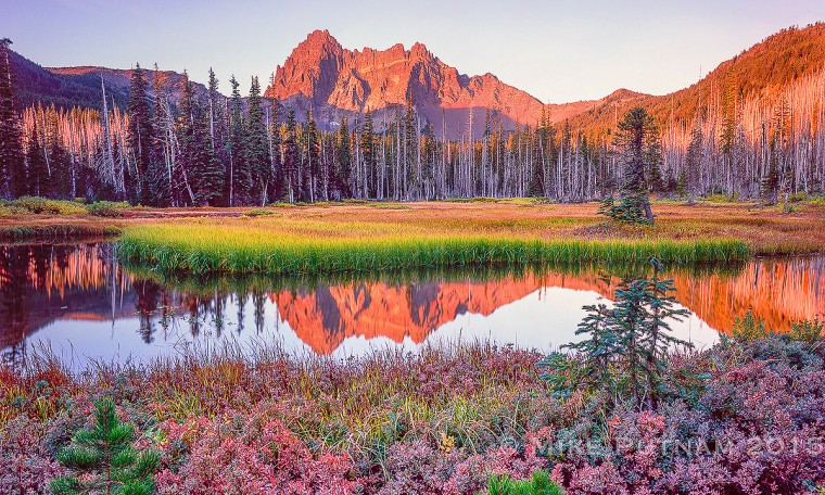 Mount Three Fingered Jack Wallpapers