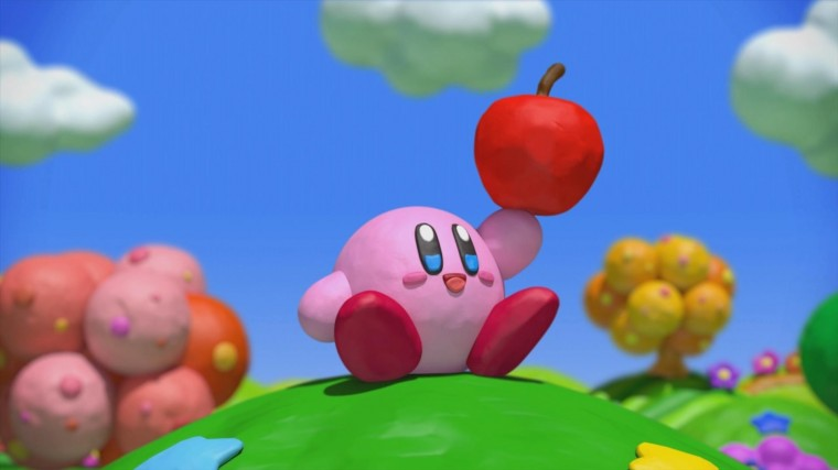 Kirby and the Rainbow Curse HD Wallpapers