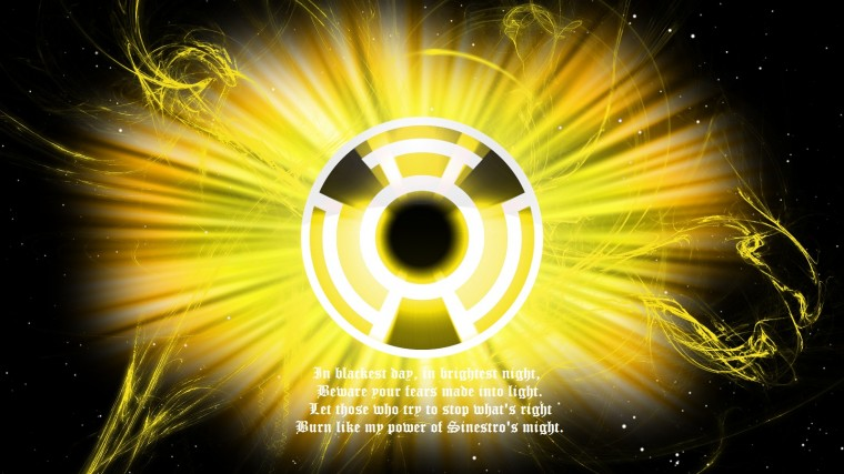 Sinestro Corps Wallpapers