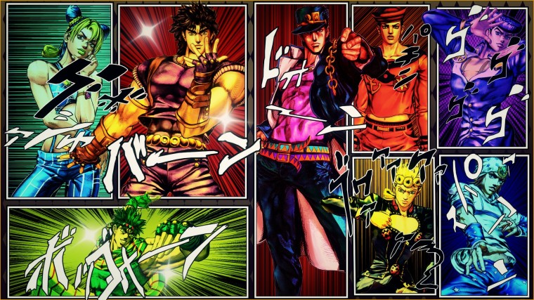 Jojo's Bizarre Adventure Wallpapers