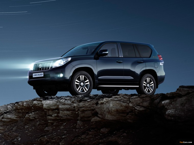 Toyota Land Cruiser Prado Wallpapers