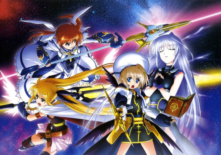 Magical Girl Lyrical Nanoha Strikers Wallpapers