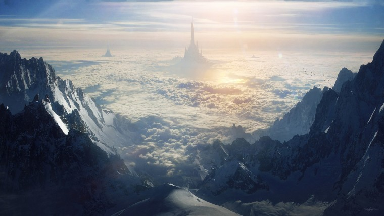 Sci Fi Landscape Wallpapers