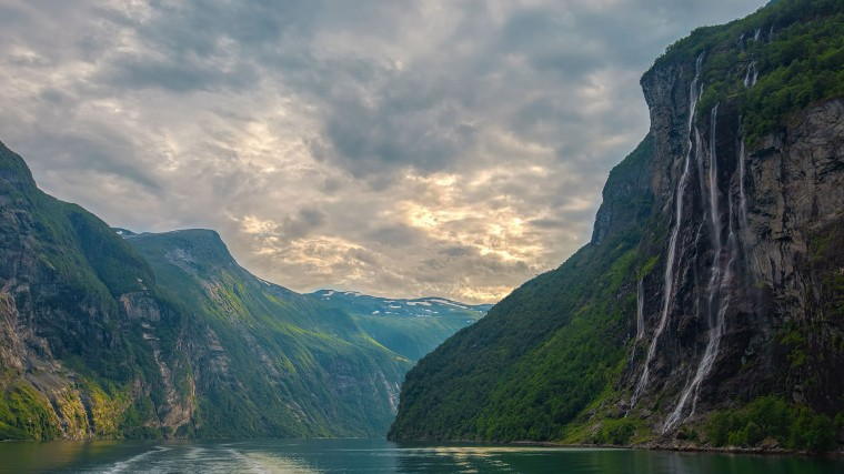 Seven Sisters Waterfall, Norway Wallpapers