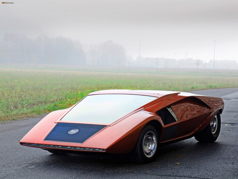 Lancia Stratos Zero Wallpapers