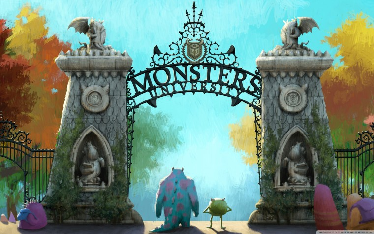 Monsters Univeristy Wallpapers