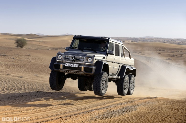 Mercedes-Benz G63 AMG 6x6 Wallpapers