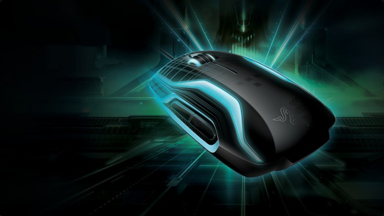 Razer Neon Blue Mouse Wallpapers