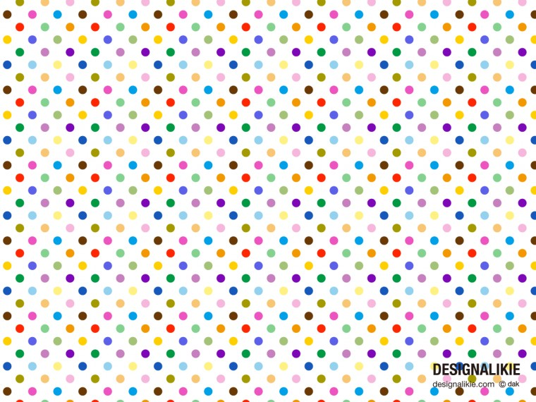 Multicolor Dots Wallpapers