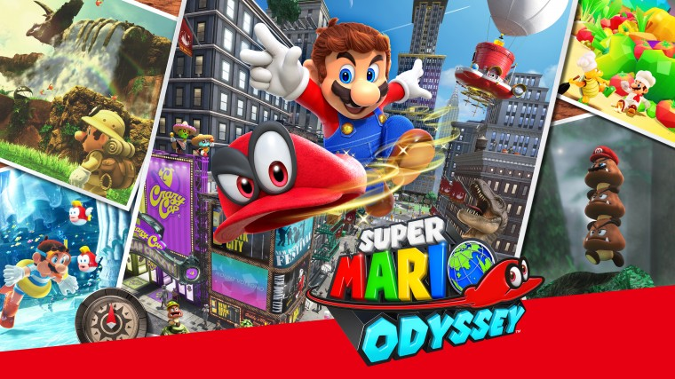Super Mario Odyssey HD Wallpapers