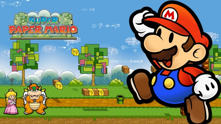 Super Paper Mario HD Wallpapers