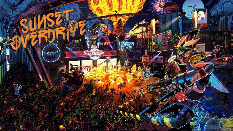 Sunset Overdrive HD Wallpapers