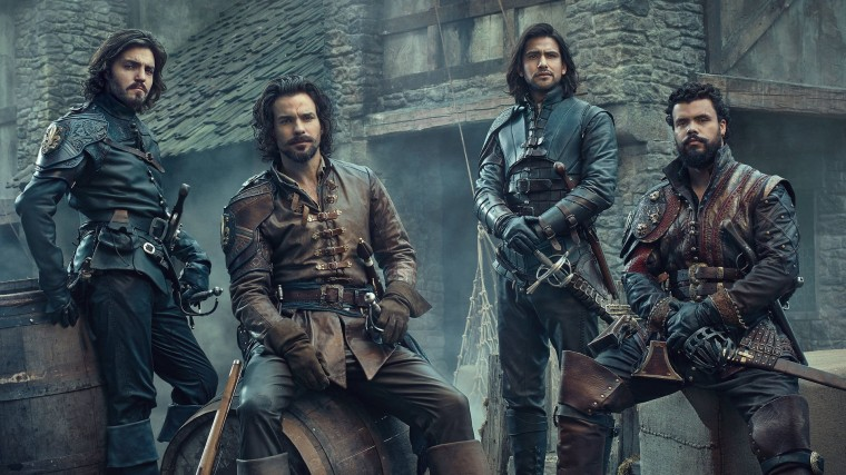 The Musketeers Wallpapers