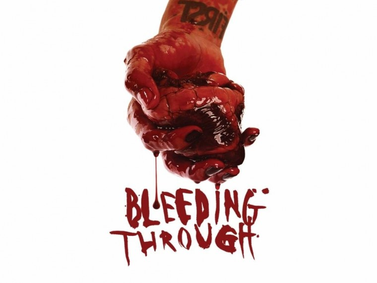 Bleeding Through Wallpapers
