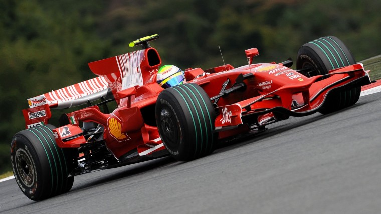 Ferrari F2008 Wallpapers