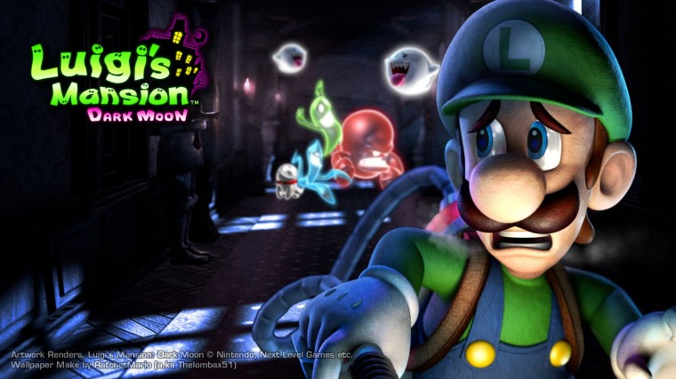 Luigi's Mansion HD Wallpapers