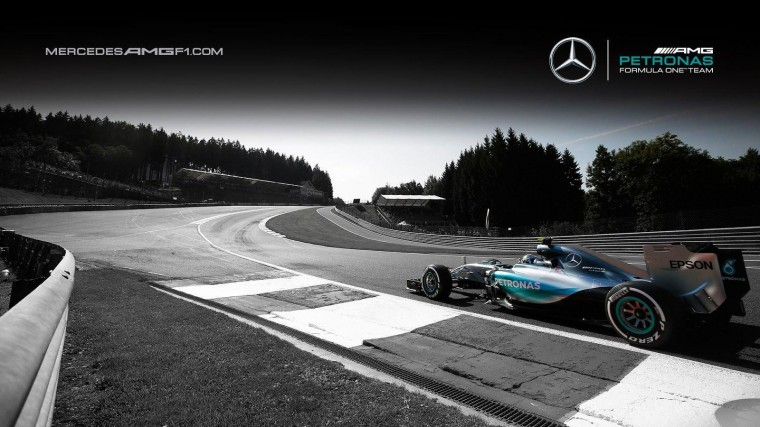 Mercedes AMG F1 Wallpapers