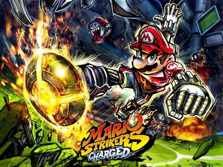 Super Mario Strikers HD Wallpapers