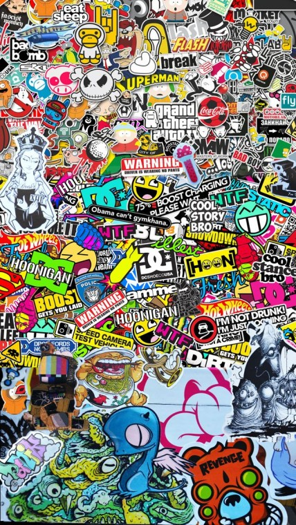 Sticker Bomb Wallpapers