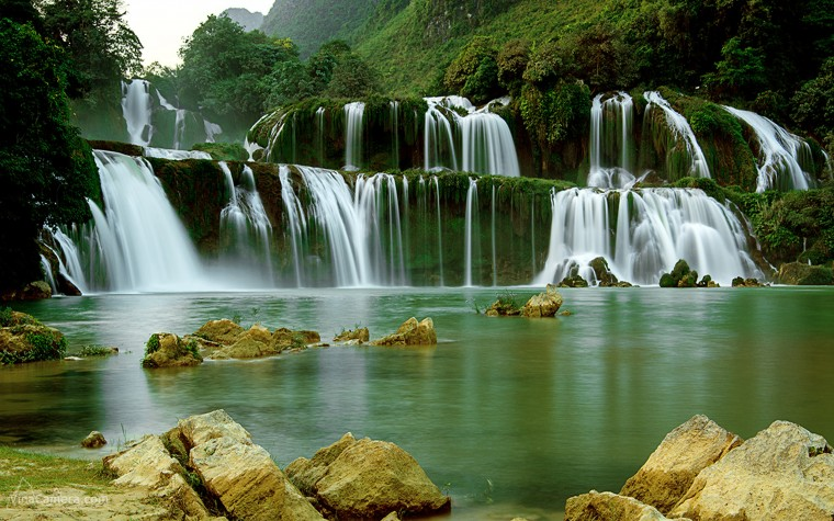 Ban Gioc–Detian Falls Wallpapers