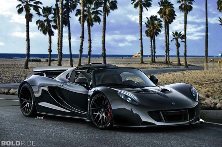 Hennessey Venom GT Spyder Wallpapers