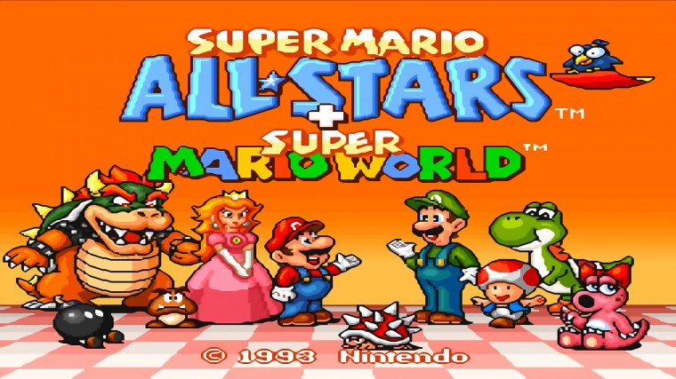 Super Mario All-Stars + Super Mario World HD Wallpapers